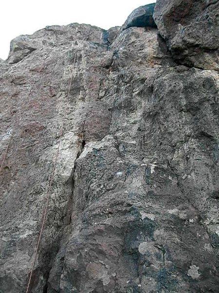 Rock Climbing Photo: Blowback