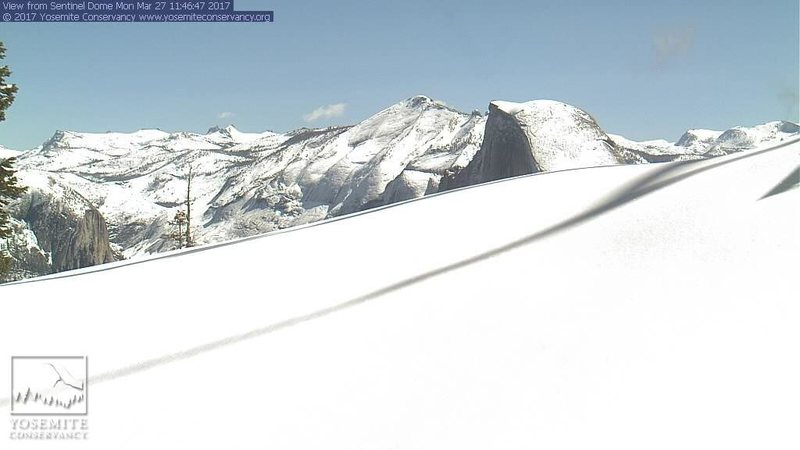 Sentinel Dome cam at noon.