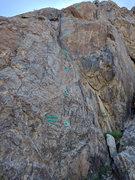 Rock Climbing Photo: Getaway 5.10a