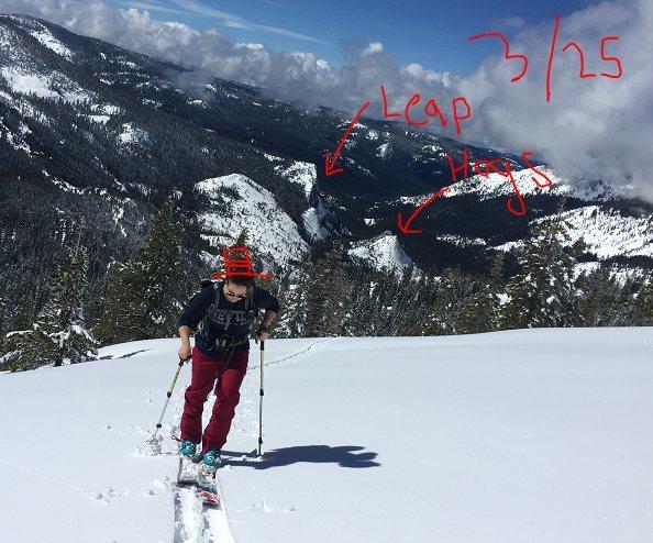 Rock Climbing Photo: MT RALSTON 3/25