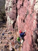 Rock Climbing Photo: There was some nice sun-shine 2 Sundays ago.