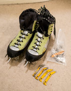 Rock Climbing Photo: LOWA Ice Comp Boots