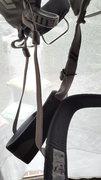 Rock Climbing Photo: Leg loops on new harness.. pretty damn bulky