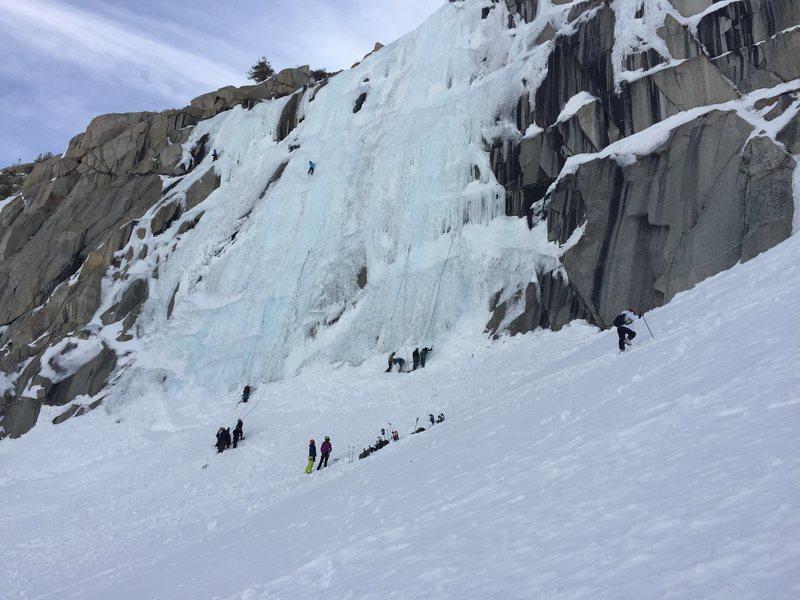 Rock Climbing Photo: Lee Vining Ice