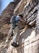 Rock Climbing Photo: S Matz starting pitch 3?