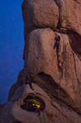 Rock Climbing Photo: Space Station free climb