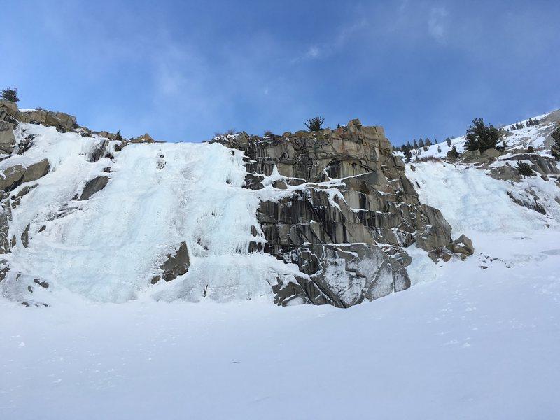Rock Climbing Photo: LVC MainWall+ChouinardWall