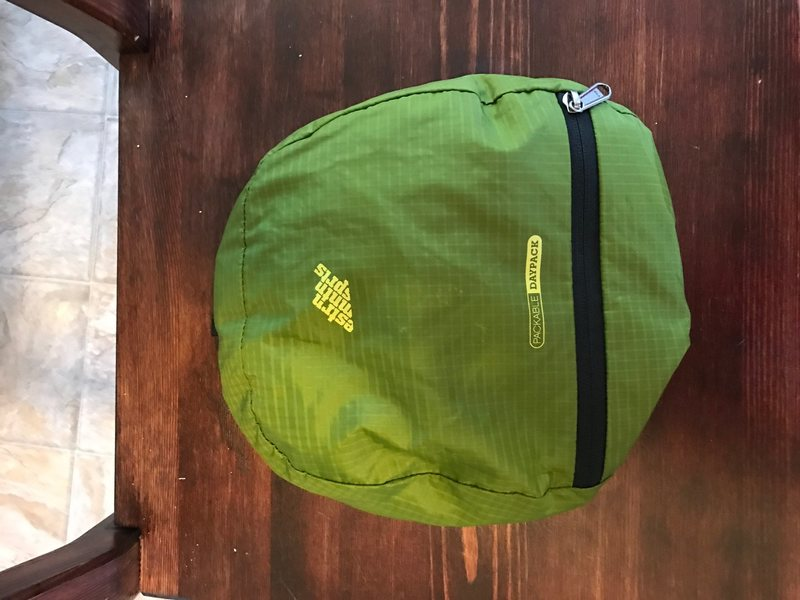Rock Climbing Photo: EMS summit pack. Good condition. Packs into lid
