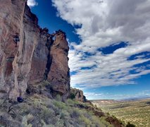 Rock Climbing Photo: Dave on Cruxifiction
