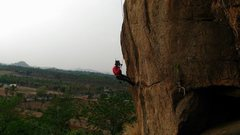 Rock Climbing Photo: Route setting. Gujju Razak