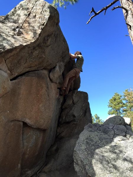 Wave Traverse, Best Warm Up Route in Groom