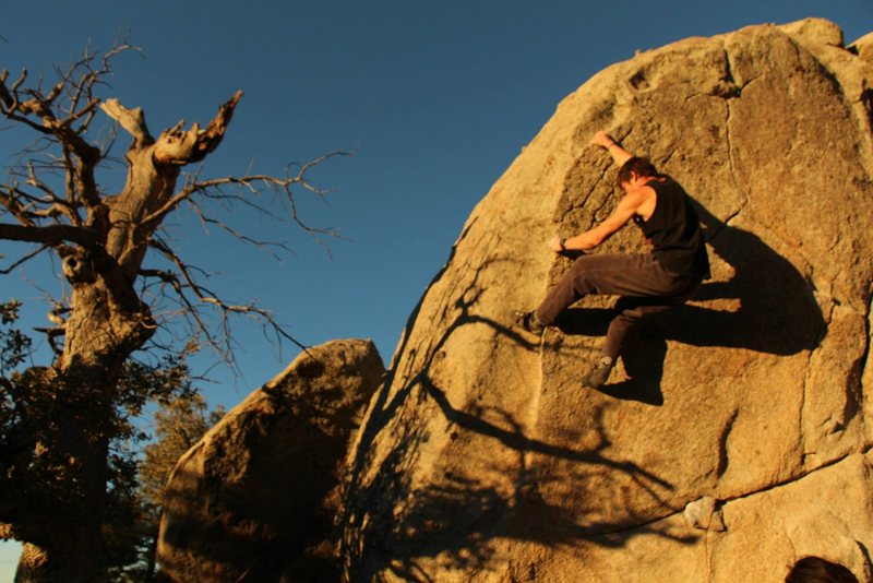 Rock Climbing Photo: Space Lords, Groom Creek