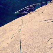 Rock Climbing Photo: Watson Lake climbing. Some routes you must travel ...