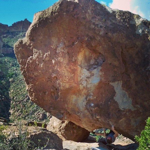 Rock Climbing Photo: Superstition Mountains