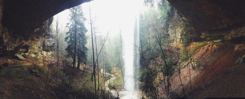 The Falls after a rainstorm.<br> April 2015