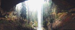 The Falls after a rainstorm. <br />April 2015