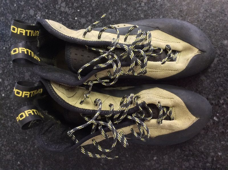 Rock Climbing Photo: FS: LA SPORTIVA TC PRO size 41.5 (used on 2 pitche...