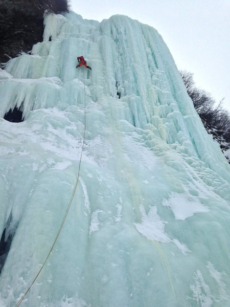A great pic from Cloudberry Johnson of Nick leading the incredible first pitch of Green Steps.