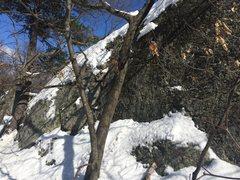 Rock Climbing Photo: Birch Pond 01.