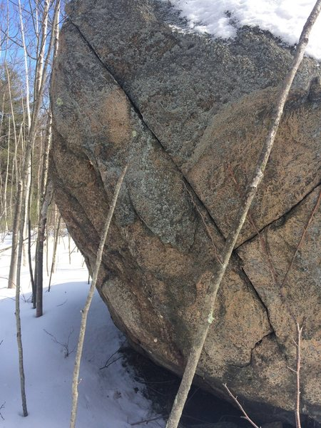 Rock Climbing Photo: Birch Pond 02.