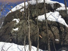Rock Climbing Photo: Birch Pond 07.
