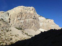 Rock Climbing Photo: Main Wall soaking in the sun