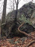 Rock Climbing Photo: Birch Pond 11.
