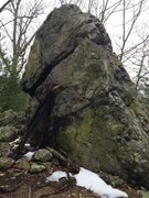 Rock Climbing Photo: Birch Pond 16 - the other side of The Purple Beaco...