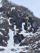 Rock Climbing Photo: This is one of the most fun mixed routes  in the V...