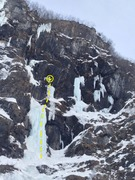 Rock Climbing Photo: This fat climb located to the right of it's bi...