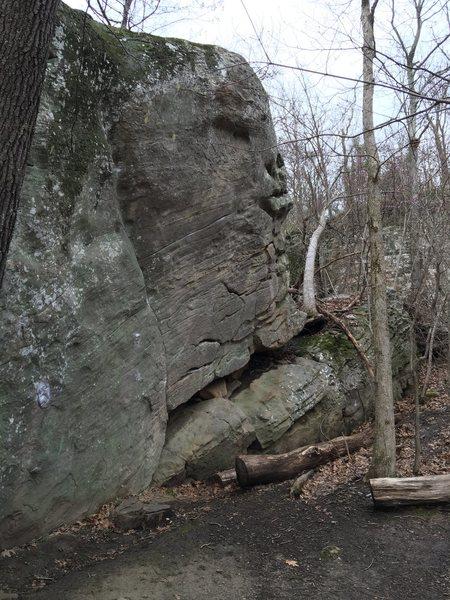 Rock Climbing Photo: The Realm