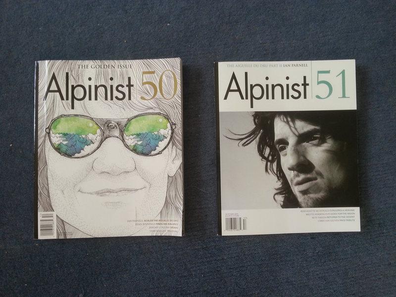 Rock Climbing Photo: Alpinist 50, Golden Issue - Summer 2015 Alpinist 5...