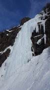 Rock Climbing Photo: This is the Crux pitch consisting of 100 feet of n...