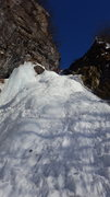 Rock Climbing Photo: This route consists of pitch after pitch spectacul...