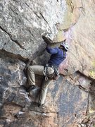 Rock Climbing Photo: Don't mind the fact I'm making this look s...
