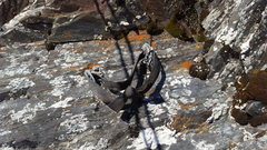 Rock Climbing Photo: Keep an eye out for can hold anchor bolted into th...