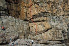 Rock Climbing Photo: 402. Balcony Seven