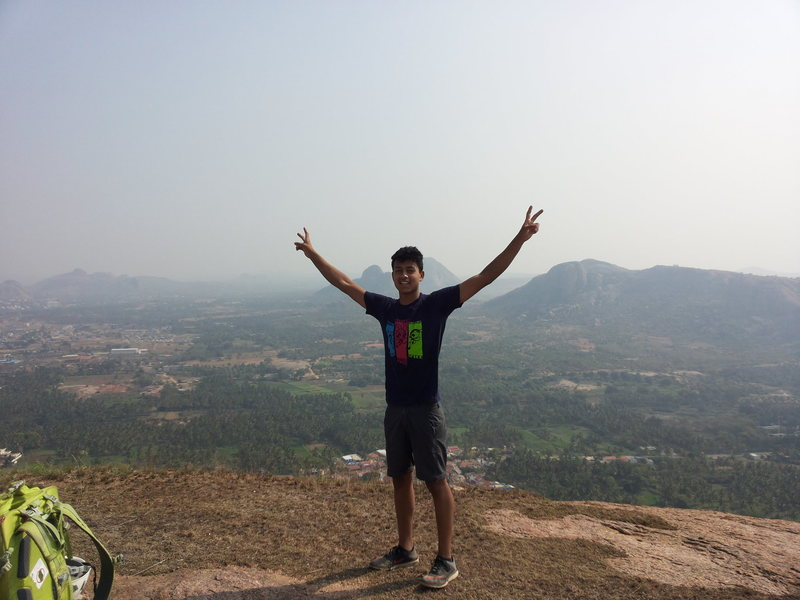 Summit shot, Bharath