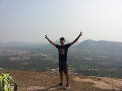 Rock Climbing Photo: Summit shot, Bharath