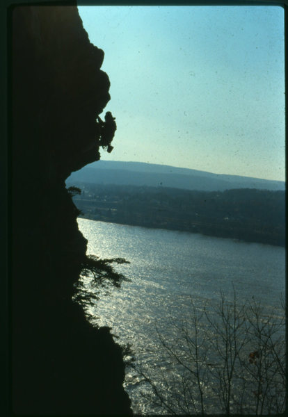 Rock Climbing Photo: Heel-A-Peel  Sometime in the 80's