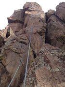 Rock Climbing Photo: A close up shot of the climb.