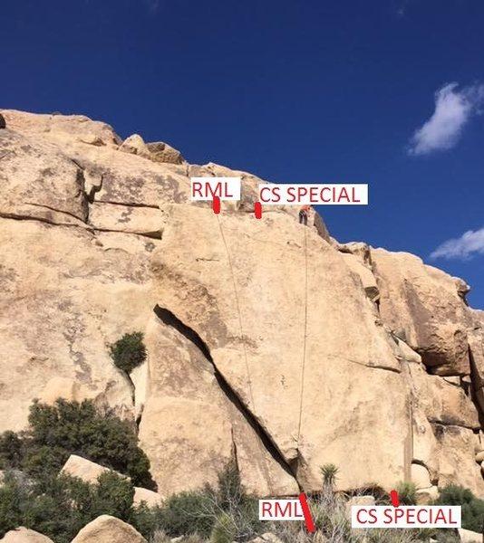Rock Climbing Photo: cs special
