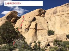 Rock Climbing Photo: SABRETOOTH