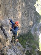 Rock Climbing Photo: Rodrigo top of p3
