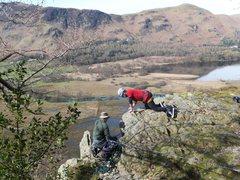 Rock Climbing Photo: Boxing Gloves