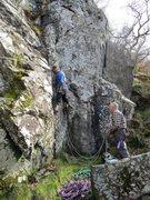 Rock Climbing Photo: Jerry on Adam