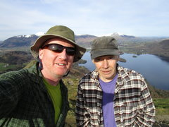 Rock Climbing Photo: Andy and Gene