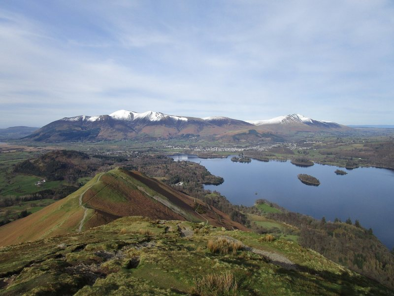 Skiddaw and derwentwater