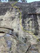 Rock Climbing Photo: Mr C topo
