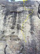 Rock Climbing Photo: NA topo